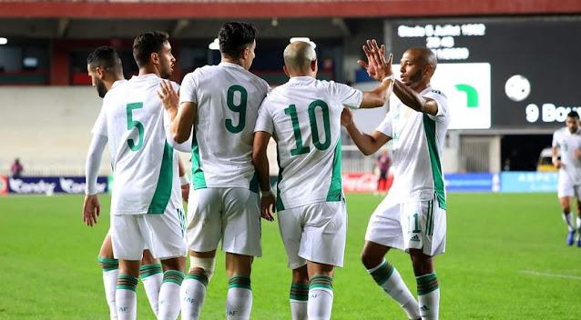 ملخص اهداف مباراة الجزائر والنيجر(4-0) تصفيات كاس العالم