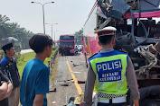 4 Bus Pariwisata yang Alami Kecelakaan Beruntun di Tol Merak KM 69, Sebabkan 1 Orang Meningal Dunia