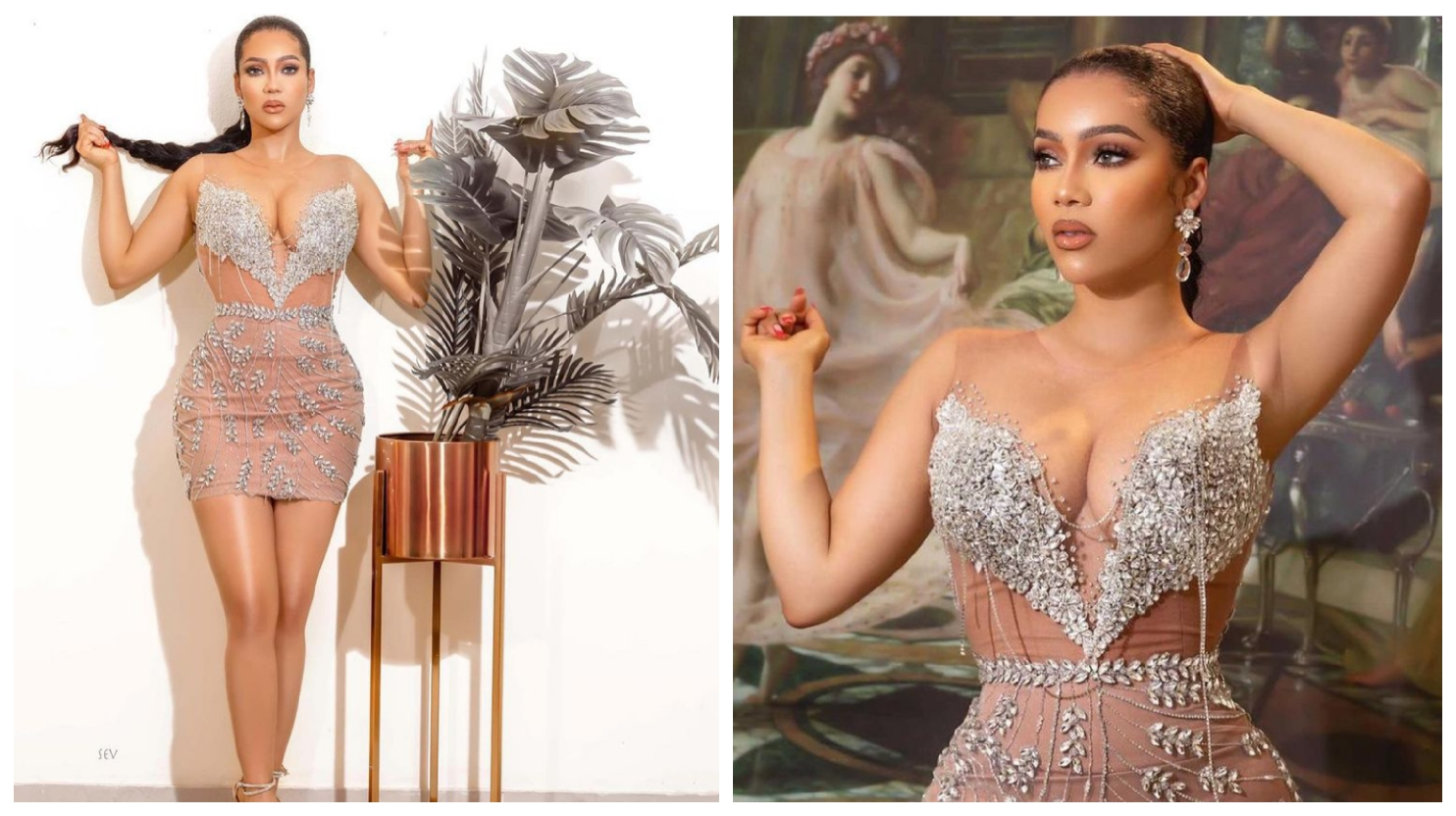 BBNaija: Maria flaunts her beauty in new photos, calls for a better October (See pictures)
