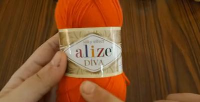 خيط إليز ديفا ( alize Diva ) أحمر
