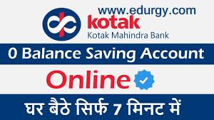 Kotak 811 - Zero Balance Savings Account