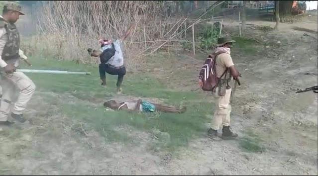 Viral Video Pria Muslim India Ditembak Polisi Bertubi-tubi, Diinjak, Dipukul hingga Tewas