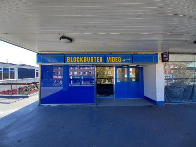 Blockbuster Video Express in Billingham, Teesside