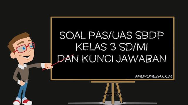 Soal PAS/UAS SBdP Kelas 5 SD/MI Semester 1 Tahun 2021