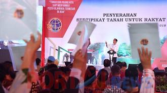 Presiden Jokowi Memerintahkan Polri Usut Tuntas Kasus Mafia Tanah
