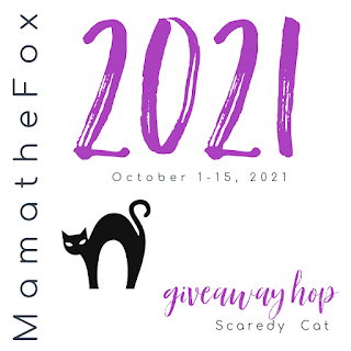 Scaredy Cat 🐈⬛ Giveaway Hop