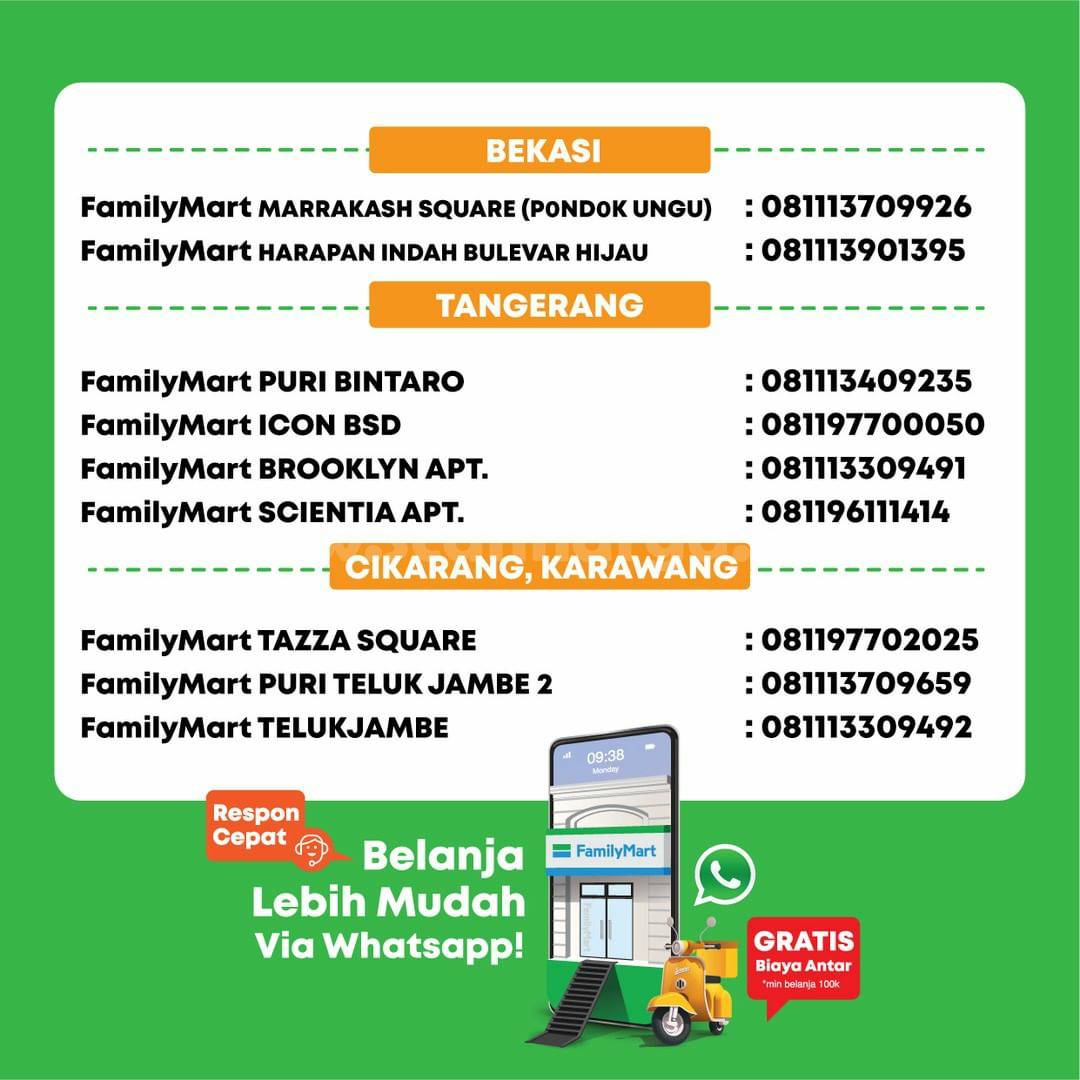 Promo FamilyMart Hemat Banget Periode 11 - 17 Oktober 2021 5