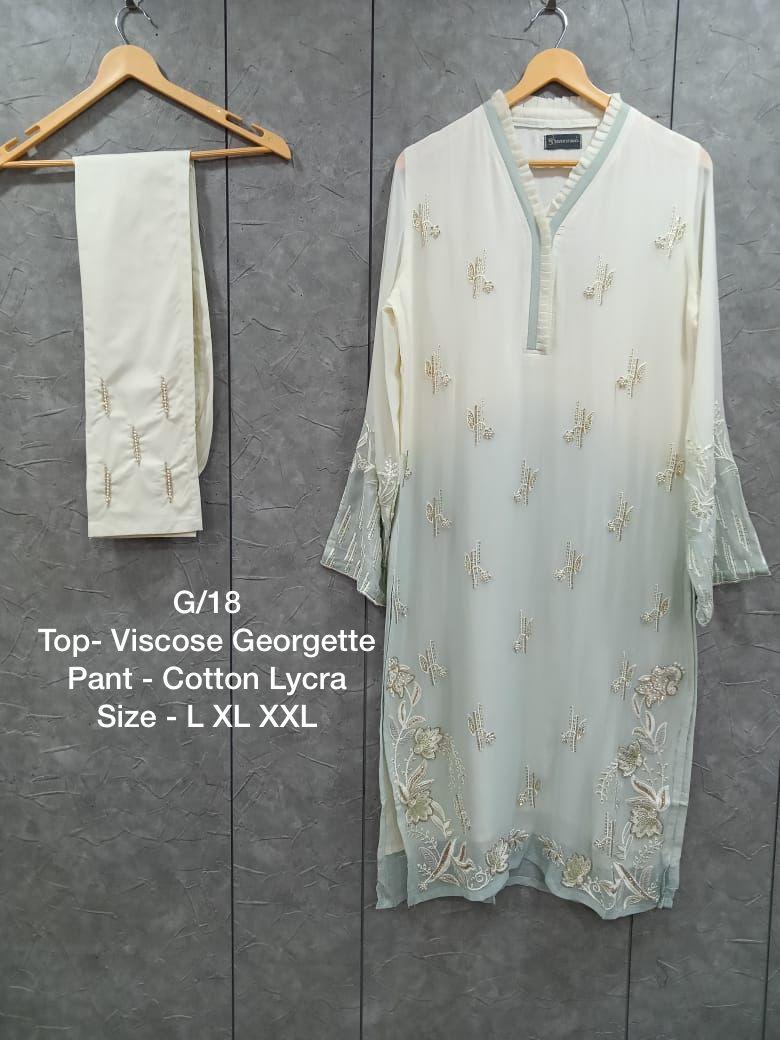 Maryams G 18 Kurtis Pant Set Catalog Lowest Price