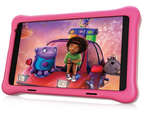 HAPPYBE Full HD Quad Core Android 10 8 inch Kids Tablet