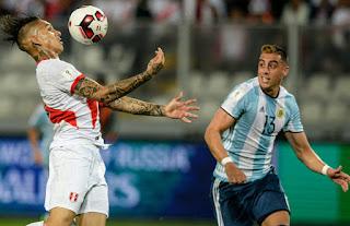 Efemérides: Perú 2-2 Argentina 2016