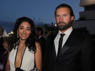 Christos Dorje Walker with his ex-wife Golshifteh Farahani