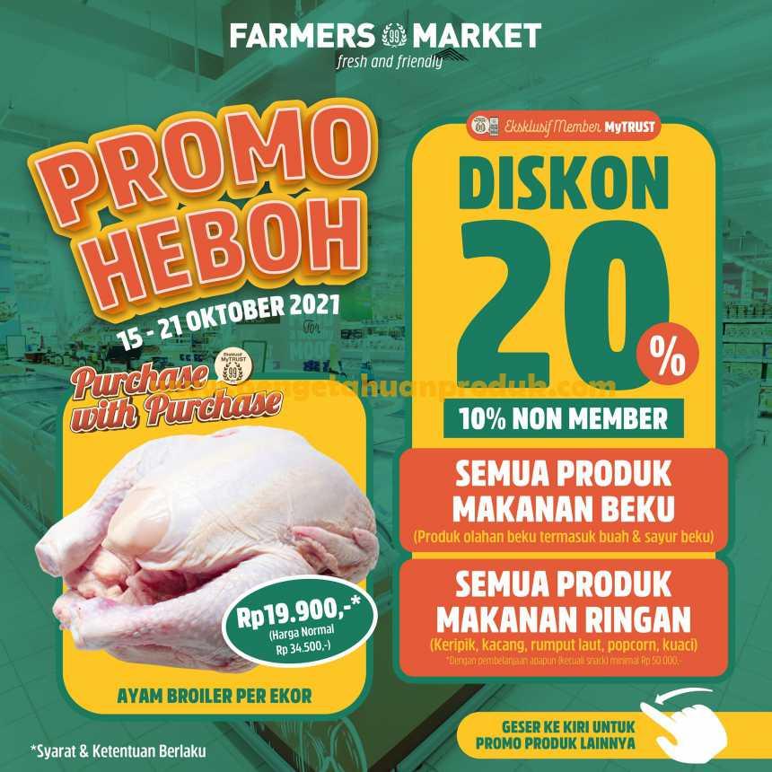 Katalog Promo Farmers Market Weekend 15 - 21 Oktober 2021