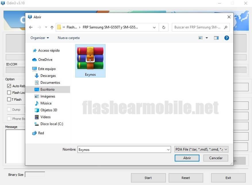 Eliminar, remover Cuenta de Google Samsung Galaxy G550T y G550T1