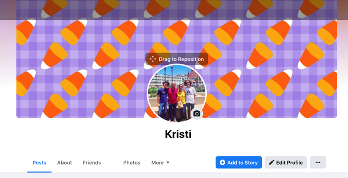 How do I change my Facebook cover photo?