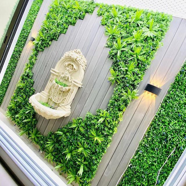 ترتيب الحوش بالعشب,تزيين الحوش بالعشب الصناعي بجدة, تركيب زرع صناعي جده,شركات تزين الحدائق في جدة,تزيين جدار الحوش بالعشب الصناعي,مصمم حدائق بجدة,