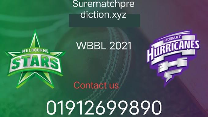WBBL Sure Match Prediction Melbourne Star Woman Vs Hubert Hurricane Woman 6th Match Who Will Win?  100% Sure Match prediction