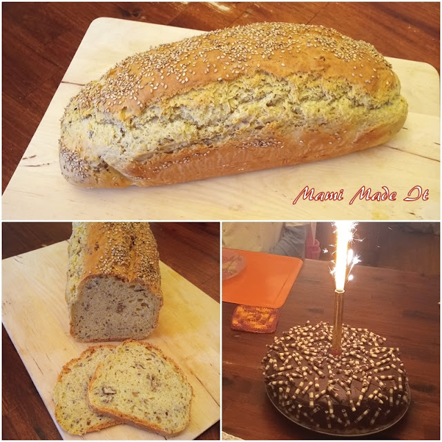Brot ohne Hefe - Bread without yeast