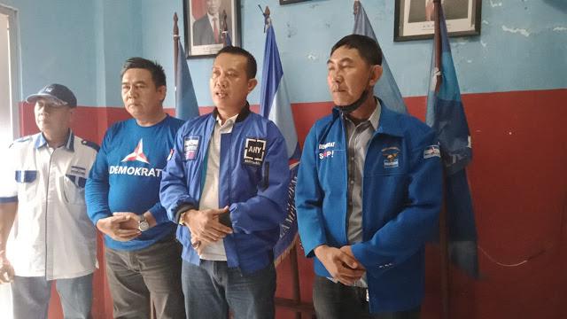 Bhakti Sosial DPC Parpol Demokrat Lampura  Kembali Gelar Vaksinasi Tahap Ke-II