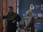 Bupati Dairi Perkenalkan Tenun Ulos Silalahi Pada Konferensi Internasional Heritage Toba.