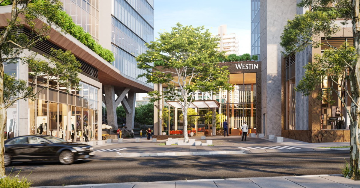 The Westin São Paulo is scheduled to open in spring of 2024