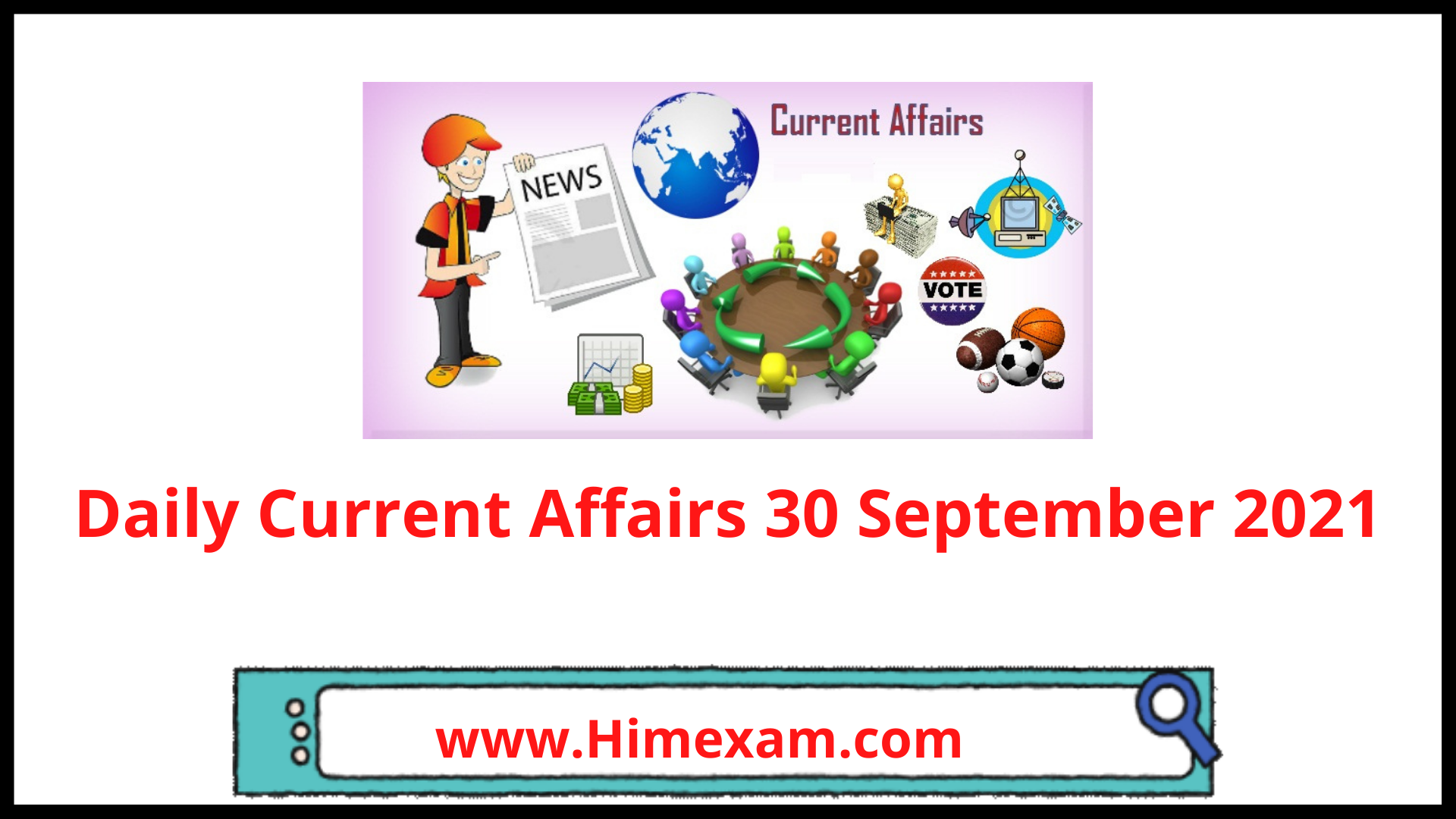 Daily Current Affairs 30 September 2021
