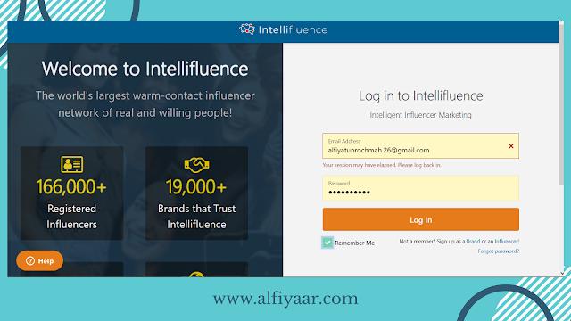 cara daftar intellifluence