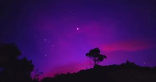 Purple Space Aesthetic