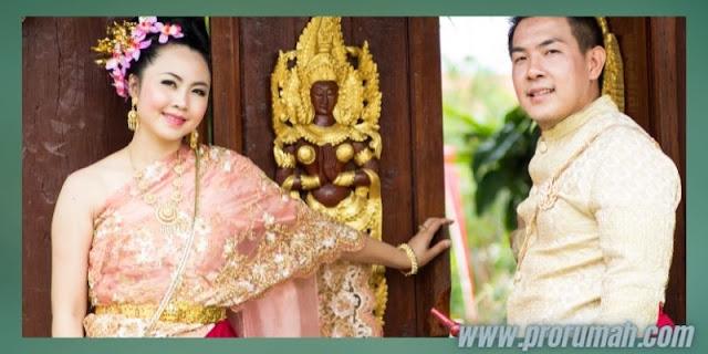 Dekorasi Resepsi  Akad Pernikahan di Rumah - hadirkan nuansa adat dan budaya