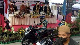 Poltekpar Lombok Wisuda Mahasiswa dengan Model Drive Thru MotoGP