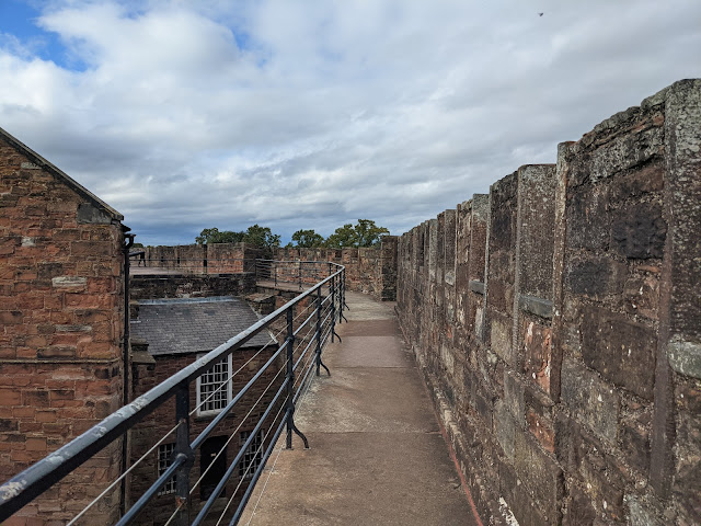 An Alternative Day Out in Cumbria | Ideas for Places to Visit - Carlisle Castle Walls