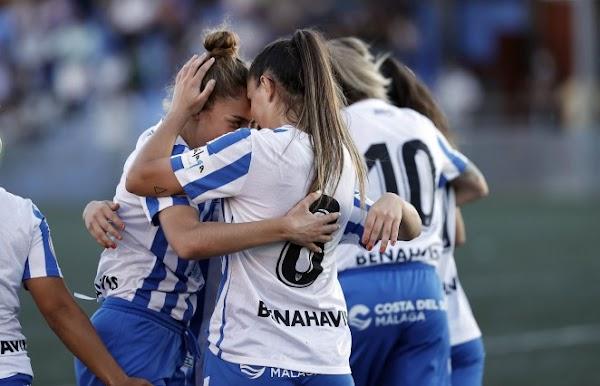 El Málaga Femenino vuelve a ganar... esta vez ante el Santa Teresa B (4-0)