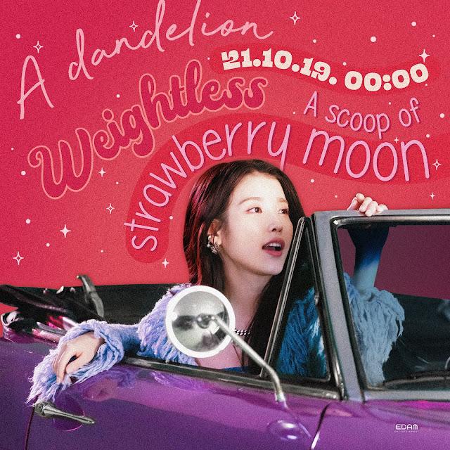 IU hace comeback con strawberry moon, su nuevo single de k-pop