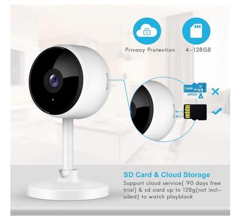 Little elf 2021 Newest 1080P HD Home WiFi Wireless Camera