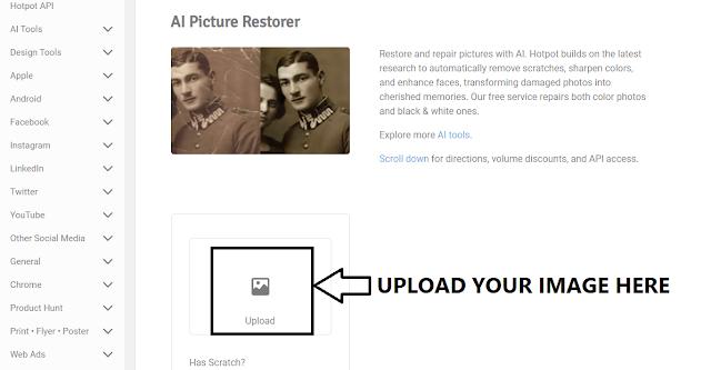 AI Picture Restorer
