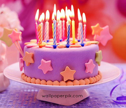 beautiful birthday cake images for him