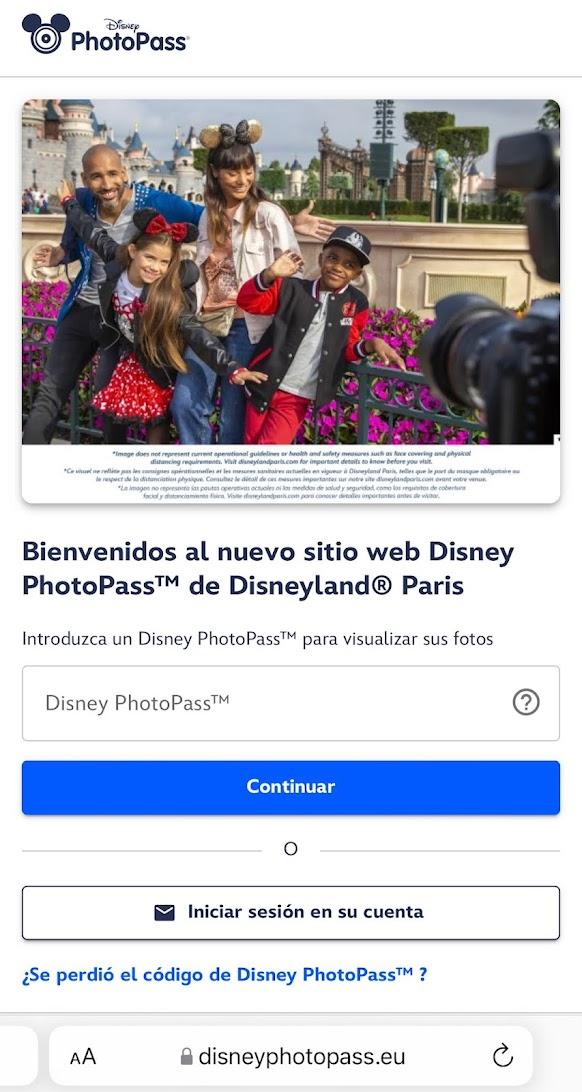PhotoPass Disneyland Paris