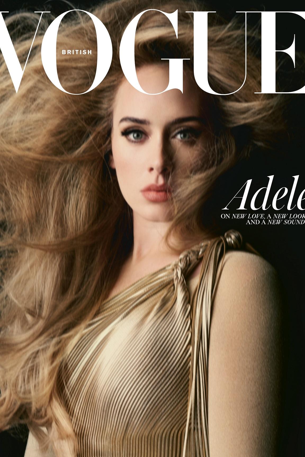 Adele by Steven Meisel, British Vogue, November 2021
