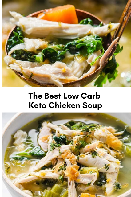 The Best Low Carb Keto Chicken Soup