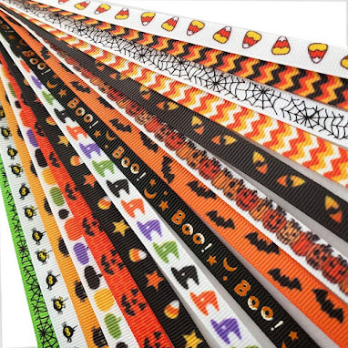 Halloween Grosgrain Ribbons for Accessories