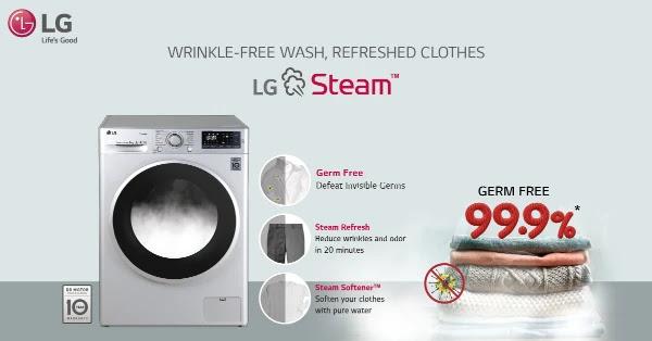LG Steam Wash