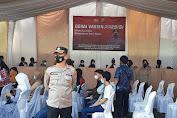 Bentuk Herd Immunity, Polres Serang Kota Kembali Gelar Vaksinasi Presisi