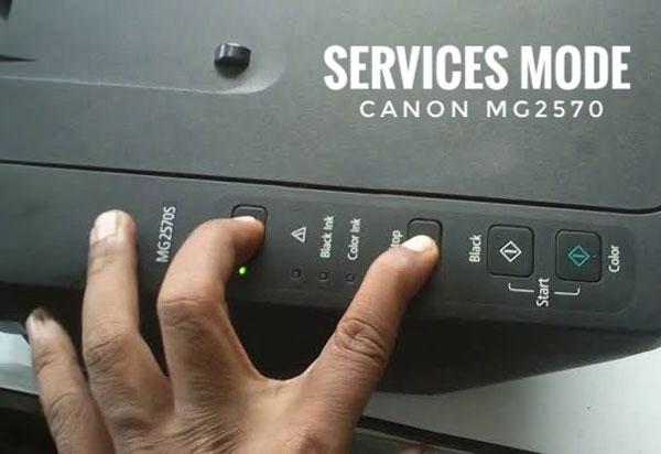 Cara Reset Printer Canon MG2570S