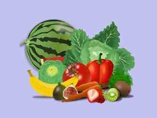 ताजे फल ओर सब्जियां