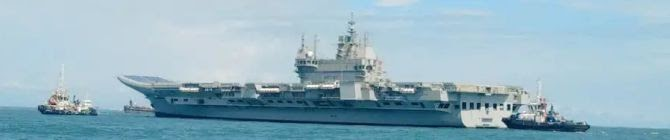After Successful Maiden Sea Trials, Vikrant To Sail Out For Phase-II Trails