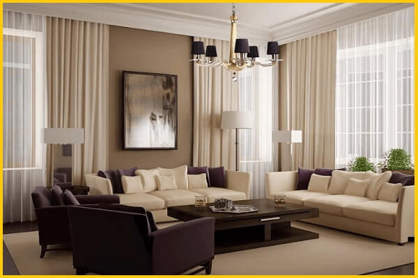 farmhouse valance curtains for living room