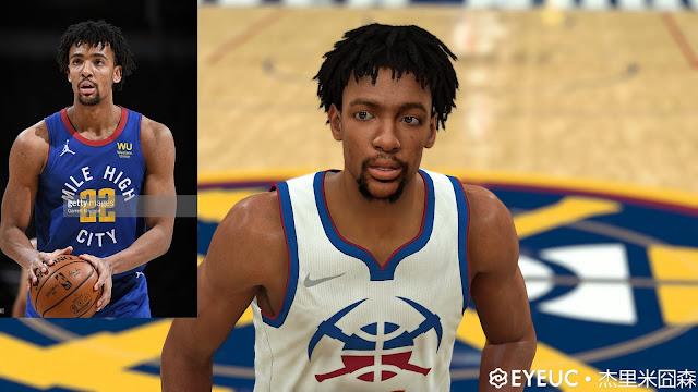 NBA 2K22 Zeke Nnaji Cyberface, Hair Update and Body Model by white55chocolate
