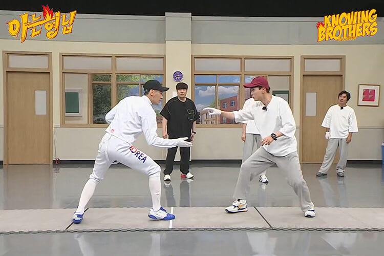 Nonton streaming online & download Knowing Bros eps 294 bintang tamu Kim Jung-hwan, Gu Bon-gil, Kim Jun-ho & Oh Sang-uk subtitle bahasa Indonesia