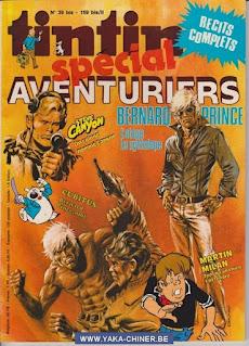 Tintin Spécial, Aventuriers