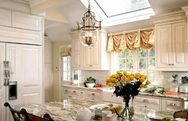 curtain design for kitchen window
