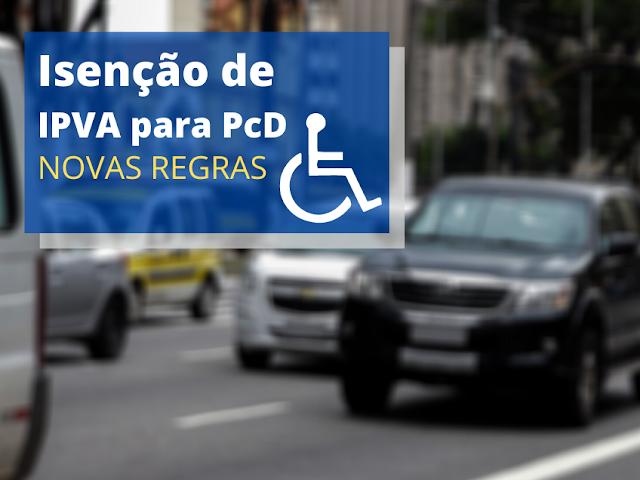 Os Veículos de pessoas com deficiência terão isenção total de IPVA! É o que prevê Projeto de Lei 1743/2021 de autoria do deputado Iolando